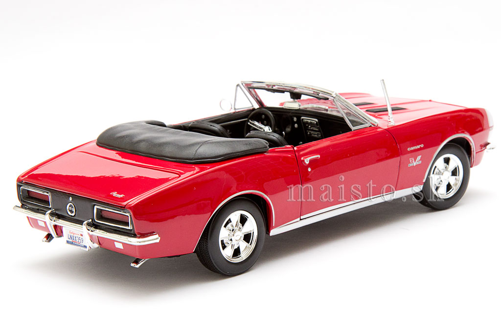 Chevrolet Camaro SS 396 Convertible red