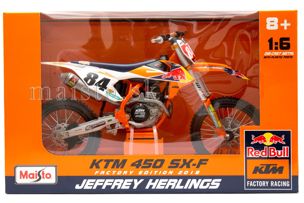 KTM 450 SX-F Factory Edition 2018 No.84 Jeffrey Herlings